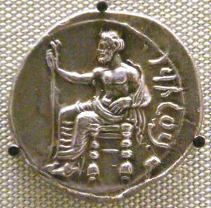 English: Pharnabazus_silver_stater_as_Satrap_o...
