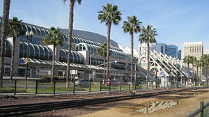 The San Diego Convention Center in San Diego, ...
