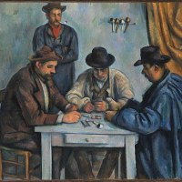 """The Card Players"" by Paul Cézanne (MET)"