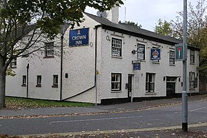 English: The Crown Inn Beeston Hardy Hanson pu...