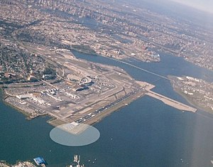 An overview of LaGuardia airport highlighting ...