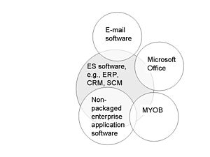 Enterprise system and non ES business applicat...