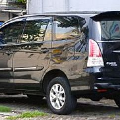 Innova New Venturer 2018 Harga Grand Veloz 1.5 2017 Toyota Wikipedia 2009 Kijang 2 0 G Tgn40 First Facelift Indonesia