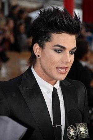 Adam Lambert at the Screen Actors Guild Awards...