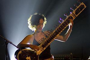 English: Anoushka Shankar at the Global Rhythm...