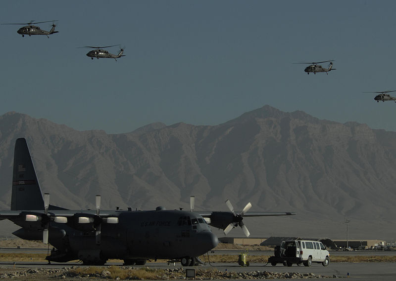 File:C-130 Hercules at Bagram Air Base.jpg
