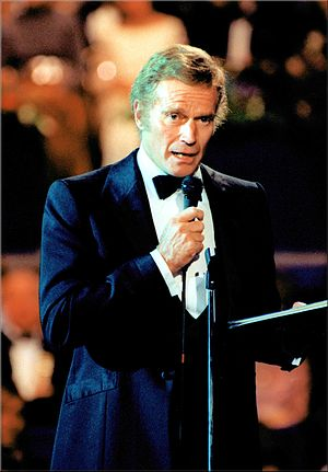 Actor Charlton Heston, president, American Fil...