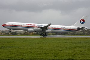 China Eastern Airlines Airbus A340-300 in Malt...
