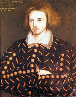 256px-Christopher_Marlowe People in History: William Shakespeare