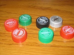 Coca-COla bottle caps