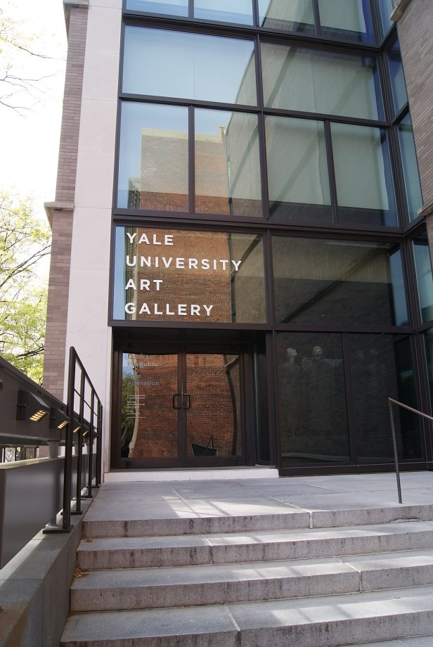 Entrance of the Yale University Art Gallery - 20120428