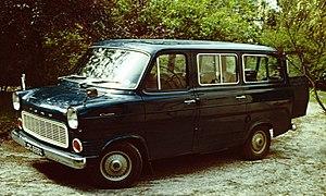 Ford Transit Minibus 1971