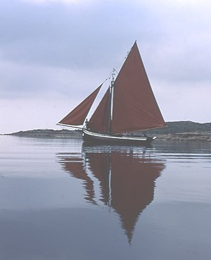 This is a Galway Hooker