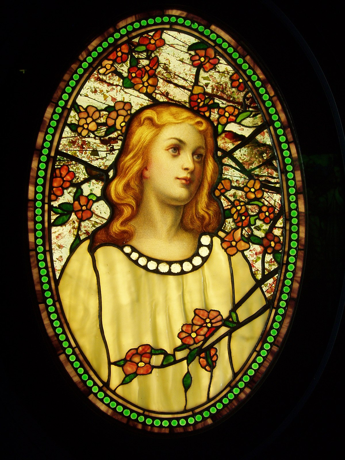 Tiffany glass  Wikipedia