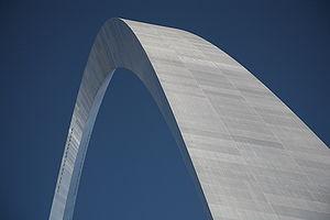 Gateway arch, St. Louis, MO, USA. Español: El ...