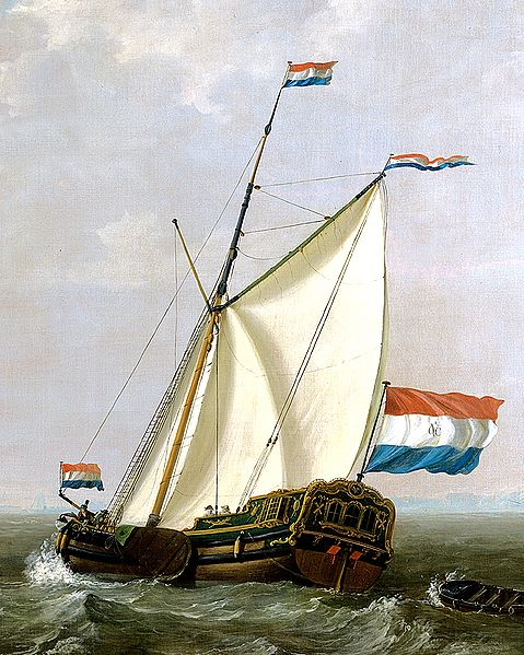 Jacob von Strig - 1790 yacht of the VOC-Chamber of Rotterdam