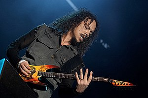 Kirk Hammett — Vienna 2007