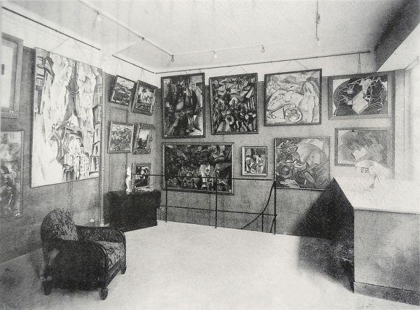 File La Section ' Exhibition 1925 Galerie Vavin