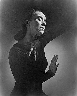 Martha Graham, dancer and choreographer Deutsc...