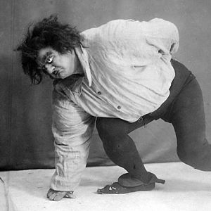 Alexander Ostuzhev as Quasimodo, 1925.