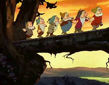 "The famous ""Heigh-Ho"" sequence from ..."