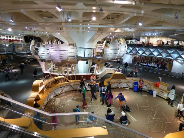 File Tree House And Design Lab In Central Pavilion Of