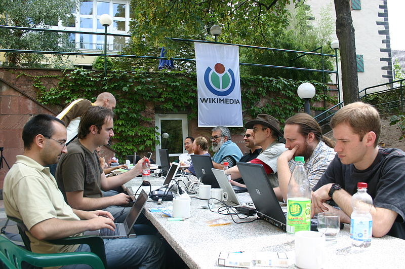 Wikimania Hacking days 2005