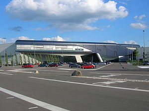 Central Building of the BMW Plant Leipzig