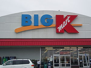 Big Kmart discount store in Ontario, Oregon (USA).