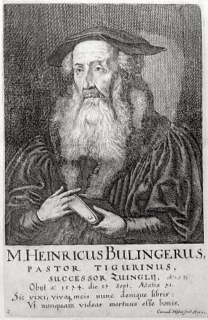 Heinrich Bullinger 1560