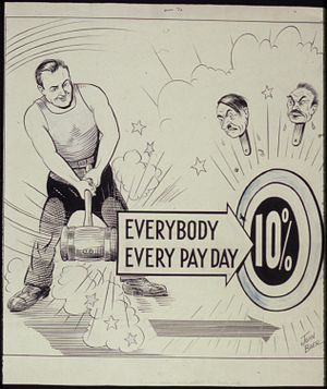 Everybody. Every Pay Day. 10 Percent - NARA - ...