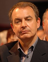 José Luis Rodríguez Zapatero during his meetin...