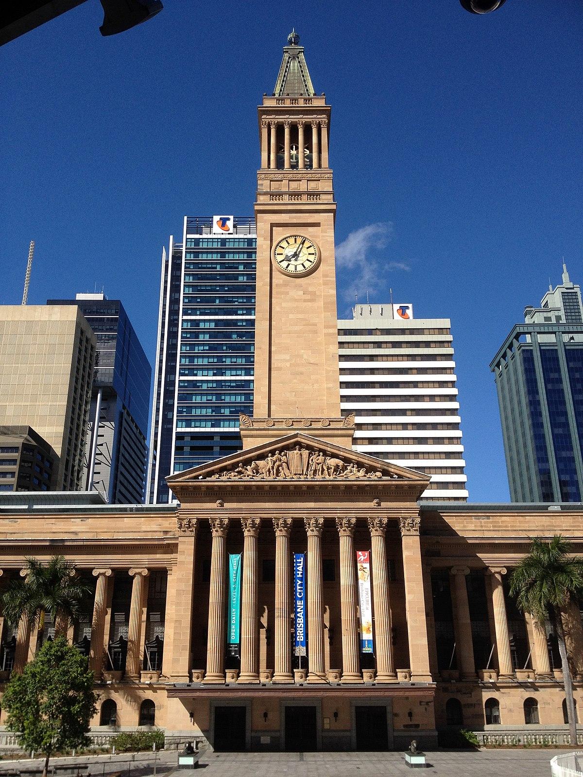 Brisbane City Hall - Wikipedia