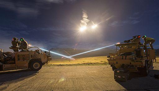 Light Dragoons Firepower on Warcop Ranges. MOD 45159364