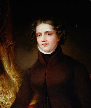 English: Portrait of Anne Lister (1791-1840), ...