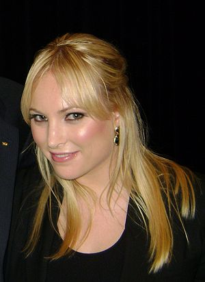 Meghan McCain at UC Berkeley.
