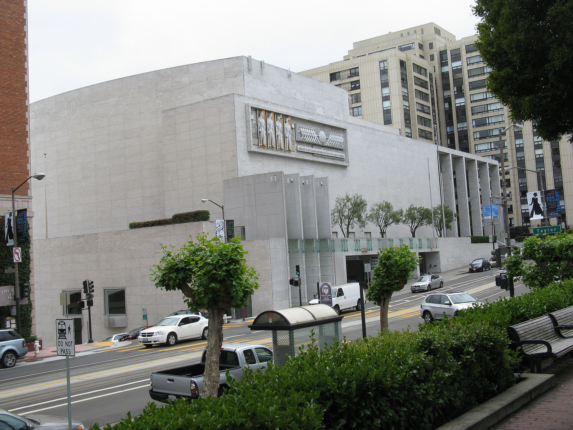 Masonic San Francisco Capacity