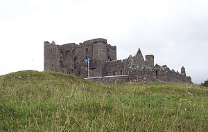 English: Rock of Cashel One of the most specta...
