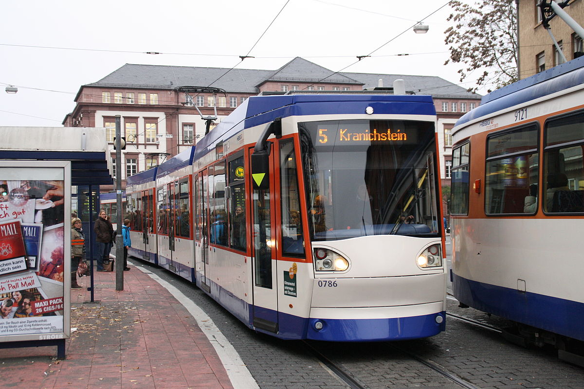 Trams in Darmstadt  Wikipedia