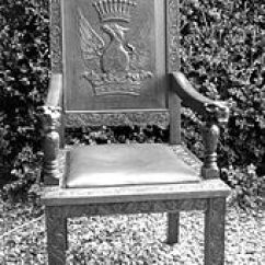 Best Chairs Geneva Glider White Toy High Chair Wikipedia Early 20th Century Made In Eastern Australia With Strong Heraldic Embellishment