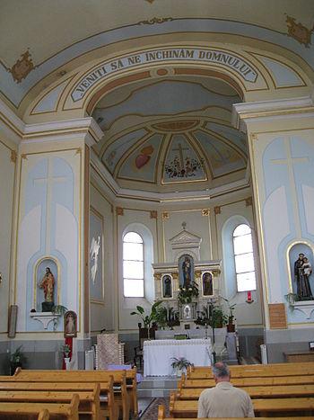 English: Roman Catholic church, Târgovişte, Ro...