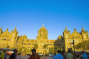 The Chhatrapati Shivaji Terminus, Mumbai - Ind...