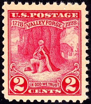 English: US Postage stamp, 1928 issue, Washing...