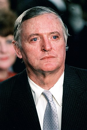 William F. Buckley, Jr. attends the second ina...
