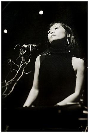 Yuki from Asobi Seksu. Shot at Be the Riottt M...