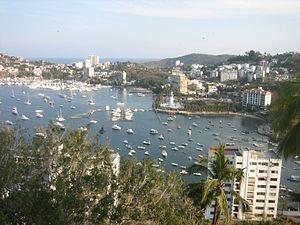 Español: Área turística del Acapulco Tradicion...