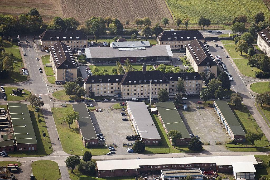 FileBarker Barracks Sennelager Paderborn Germany MOD