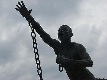 La estatua de Benkos Biohó