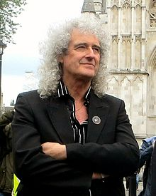 Brian May in 2013 (photo by Brian Minkoff/London Pixels)