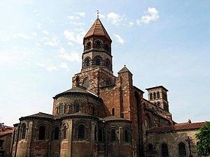 Brioude (Haute-Loire - France), Basilica of St...